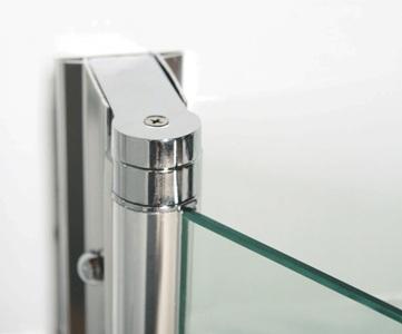 duschwand duschkabine eckdusche 80x80 milchglas classic ebay. Black Bedroom Furniture Sets. Home Design Ideas